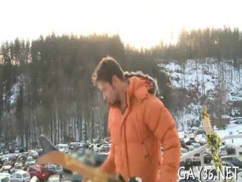 Boquete Na Estação De Ski.